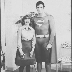Superman--Christopher Reeve WithThe Original Lois Lane, Noel Neill