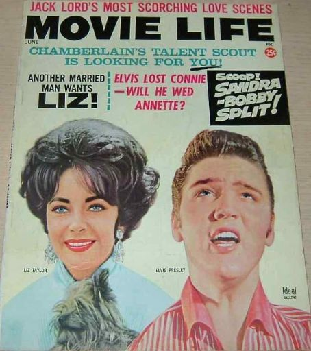 Elvis Presley - Movie Life Magazine [United States] (June 1963)