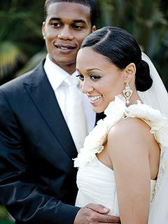 Tia Mowry's Wedding Photo