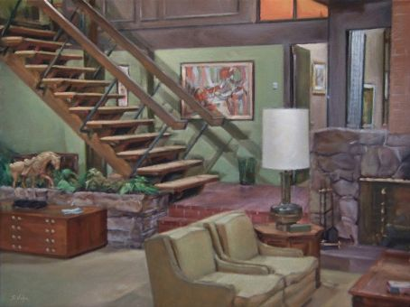 The Brady Bunch - The Brady Living Room