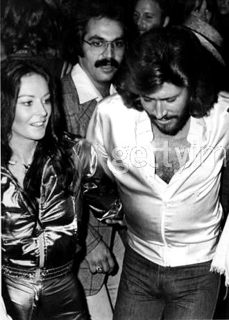 Barry Gibb And Linda Gray