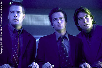 Sean Patrick Flanery Brad Rowe,  and Jerry O'Connell in Body Shots - 10/99