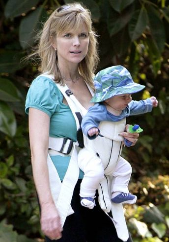 Melrose Place alum Courtney Thorne-Smith stepped out with 5-month-old son ...