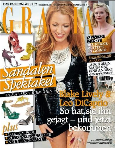 Blake Lively - Grazia Magazine Cover [Germany] (26 May 2011)