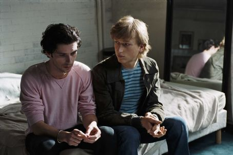 Melvil Poupaud and Christian Sengewald in Time to Leave - 2006
