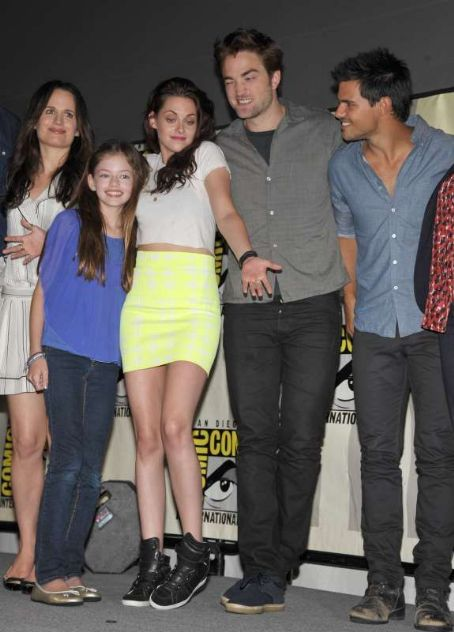Taylor Lautner - The Twilight Saga: Breaking Dawn - Part 2 At San Diego Comic-Con 2012
