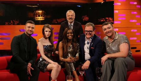'The Graham Norton Show' in London (February 2020)
