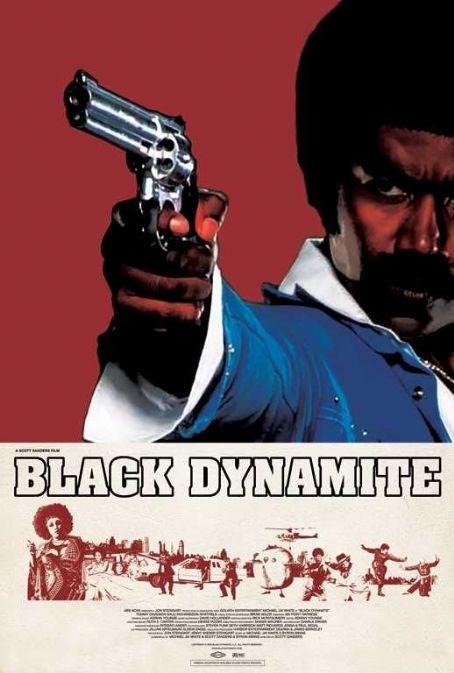 Michael Jai White Black Dynamite Poster