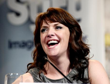 "Amanda Tapping - ""Sanctuary"" Panel - Comic Con International, San Diego - July 24, 2010"