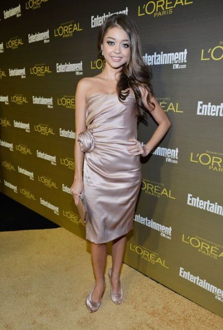 Sarah Hyland: 2012 Primetime Emmy Awards: Entertainment Weekly Party in Hollywood