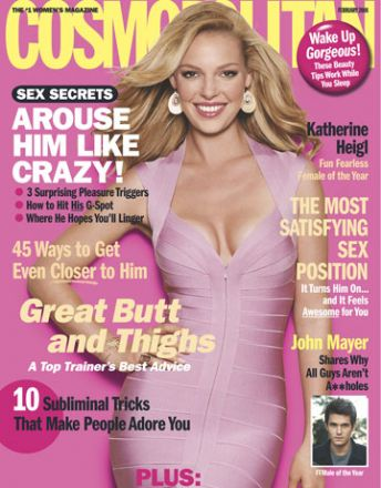 Cosmo's Cover Gallery: 10 Years of Sizzling Issues - February 2008