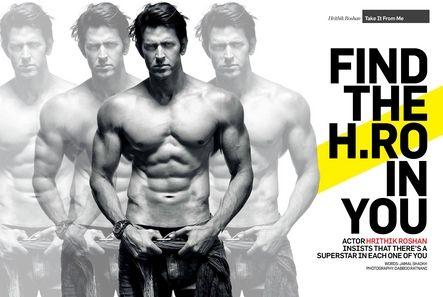 Hrithik Roshan - Men's Health Magazine Pictorial [India] (1 August 2012)