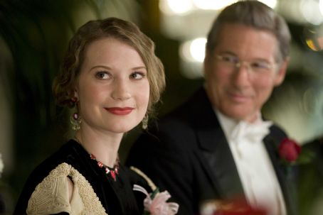 Amelia Mia Wasikowska as Elinor Smith and Richard Gere in Mira Nair biography drama '.' Photo Credit: Ken Woroner
