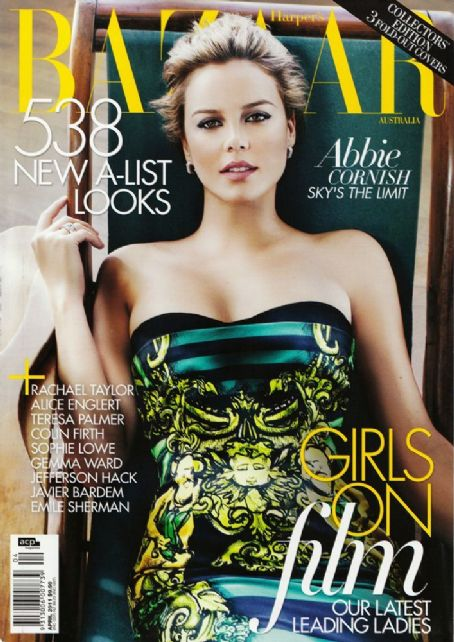 Abbie Cornish - Harper's Bazaar Magazine Cover [Australia] (April 2011)