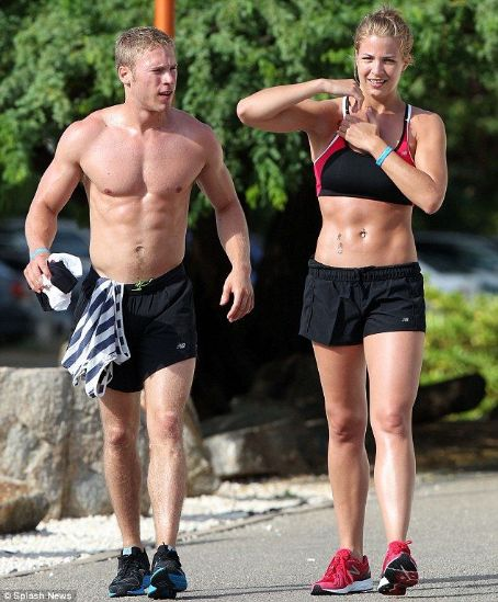 Gemma Atkinson and Liam Richards