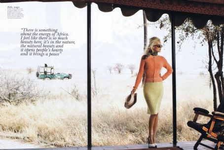 Isabel Lucas Vogue Australia December 2011