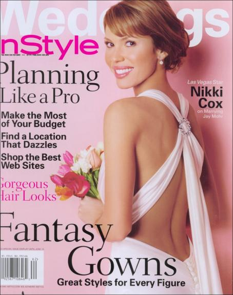 Nikki  Cox - InStyle Weddings Magazine Spring 2006