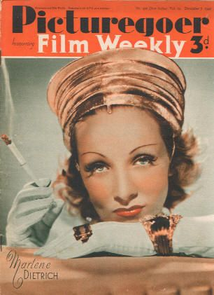 Marlene Dietrich - Picturegoer Magazine [United Kingdom] (7 December 1940)