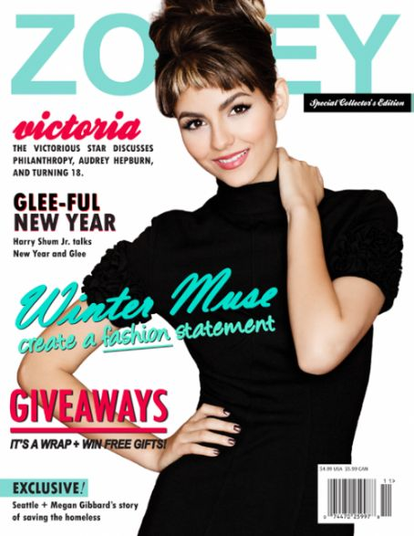 Victoria Justice - Zooey Magazine [United States] (January 2011)