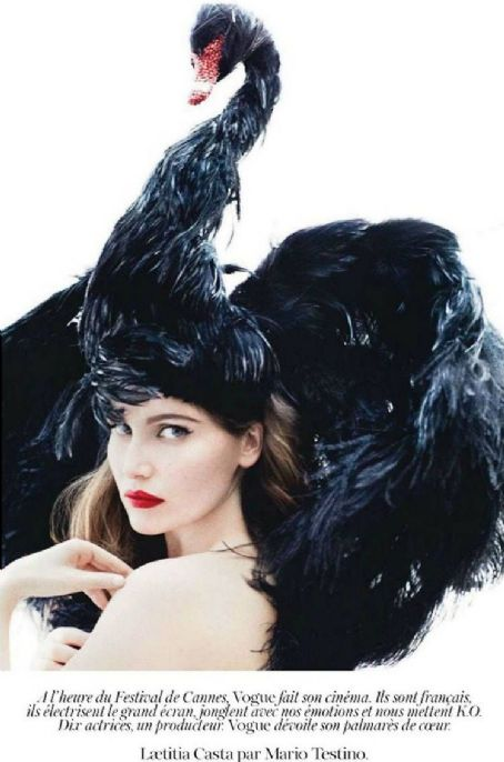 Laetitia Casta Vogue Paris May 2012