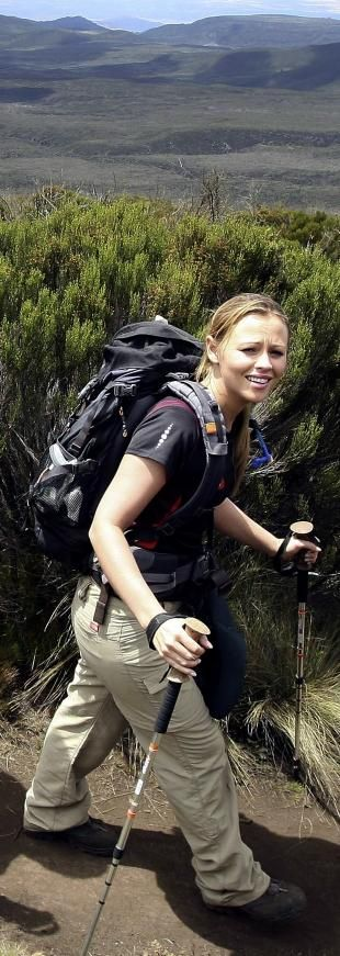 Kimberley May Quit Sponsored Climb