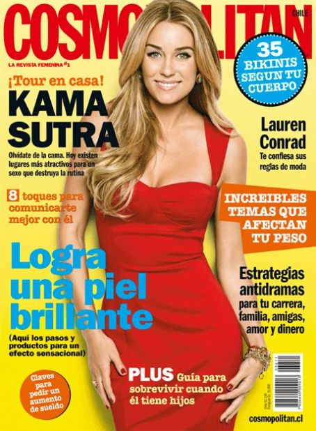Lauren Conrad - Cosmopolitan Magazine [Chile] (November 2010)