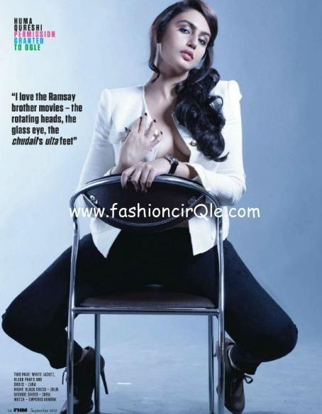 Huma Qureshi  - FHM Magazine Pictorial [India] (September 2012)