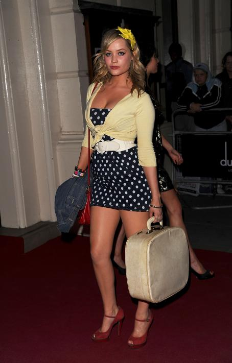 Laura Whitmore  - 'GQ Men Of The Year Awards' At The Royal Opera House On September 7, 2010 In London, England