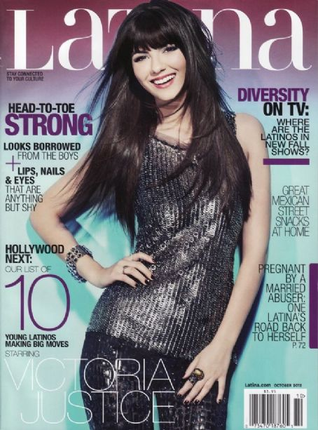 Victoria Justice - Latina Magazine Cover [United States] (October 2012)