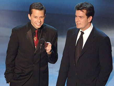 Jon Cryer  & Charlie Sheen