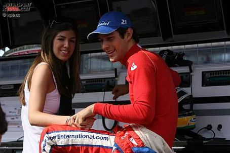 Bruno Senna and Veridiana Alves de Lima