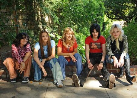 Stella Maeve Rolling Stone 'The Runaways' Photo From The Set