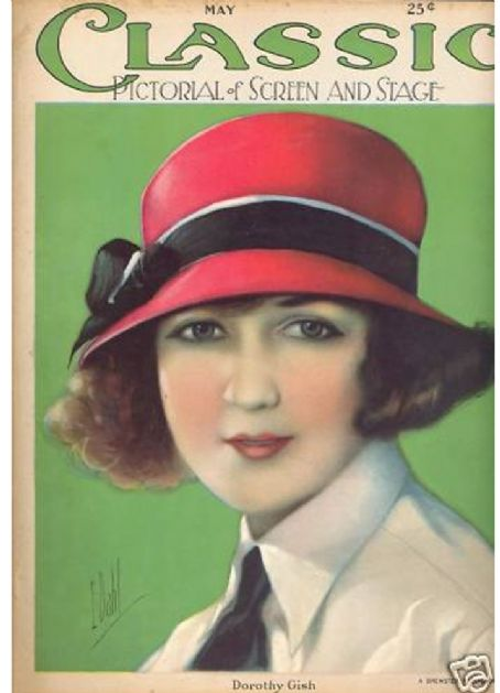 Dorothy Gish - Motion Picture Classic Magazine [United States] (May 1924)