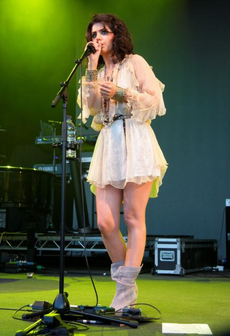 Katie Melua - At Thetford Forest Concert, Suffolk, UK 2010-07-10