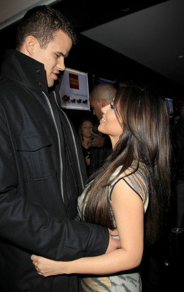 Kris Humphries NBA All-Star Game after party hosted by her sister Kloe at Club Nokia. (February 18, 2011 - Photo by PacificCoastNews.com)
