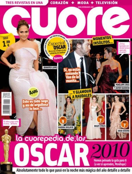 Jennifer Lopez - Cuore Magazine [Spain] (10 March 2010)