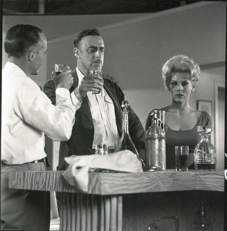John Dehner  With Grace Lee Whitney