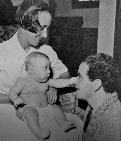Frank Capra With wife Lucille and their son