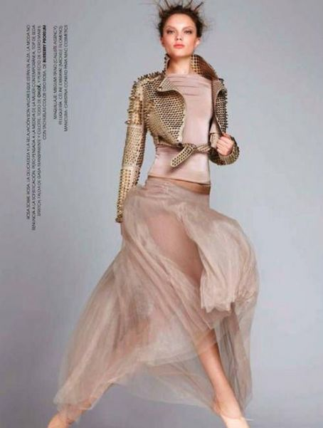 Naty Chabanenko Marie Claire Spain May 2011