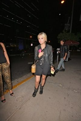 Ashley Benson and Ryan Good - At Bootsy Bellows Nightclub in West Hollywood (June 29th, 2012)