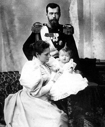 Tsarina Alexandra Grand Duchess Olga