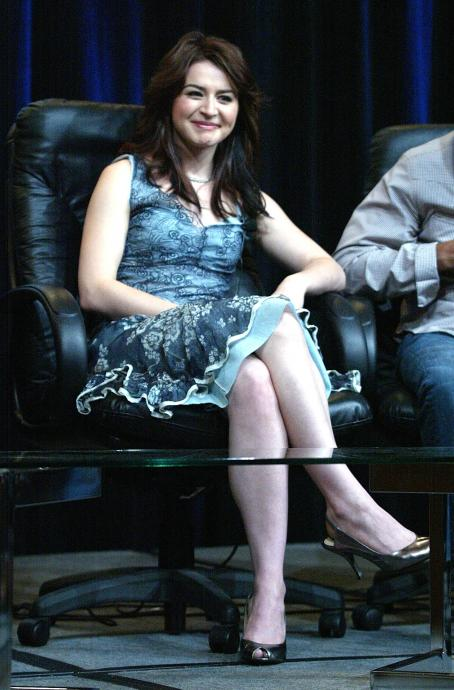 Caterina Scorsone  - TCA Tour Cable At The Century Plaza Hotel (July 23, 2004)