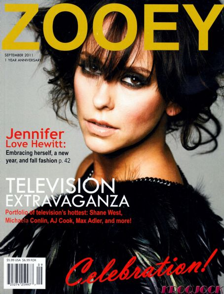 Jennifer Love Hewitt - Zooey Magazine Cover [United States] (September 2011)