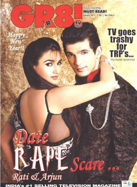 Arjun Bijlani Rati Pandey,  - Gr8! TV Magazine Pictorial [India] (January 2011)