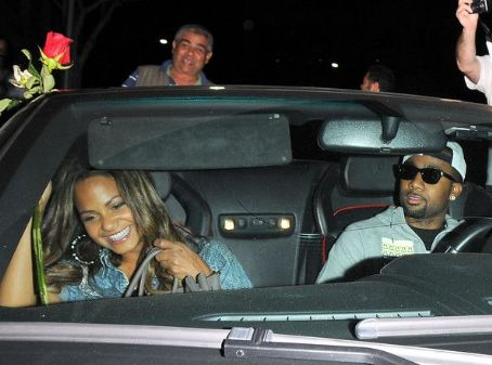 Jas Prince Christina Milian leaves Mr Chow restaurant after enjoying dinner with her new boyfriend,  on October 4, 2012 in Beverly Hills