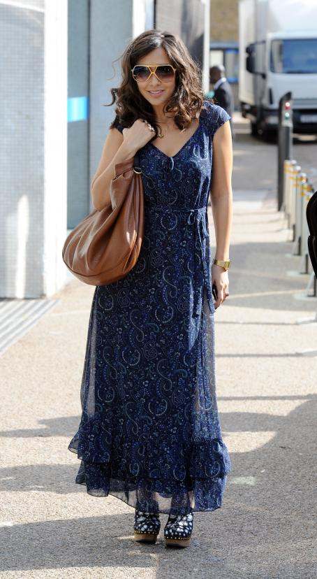 Myleene Klass - Outside Of ITV Studios In London - September 1, 2010