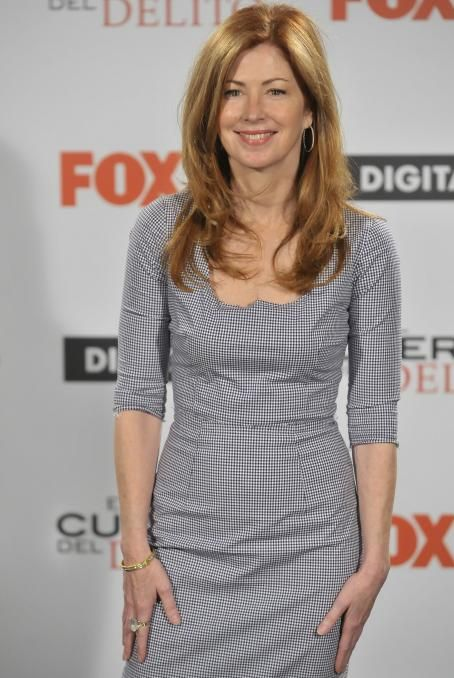 Dana Delany Promoting ''Body of Proof'' in Madrid February 1, 2011