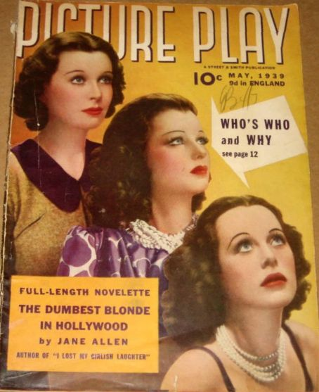 Joan Bennett - Picture Play Magazine [United States] (May 1939)