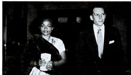 Arthur M. Loew Jr. Eartha Kitt and Arthur Loew Jr.