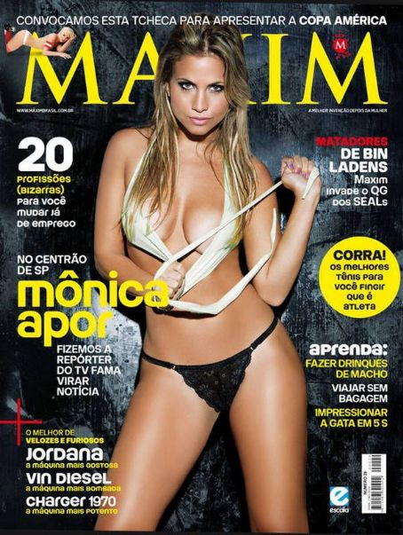 Monica Apor  Maxim Brazil June 2011